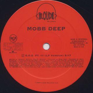Mobb Deep / G.O.D. Pt. III label