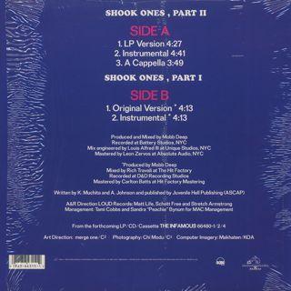 Mobb Deep / Shook Ones Part 2 c/w Shook Ones Part 1 back