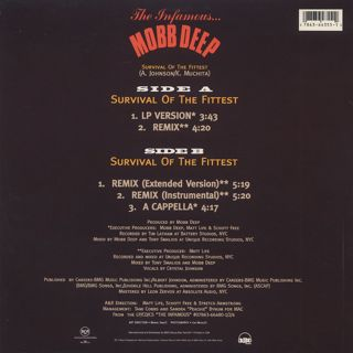 Mobb Deep / Survival Of The Fittest back