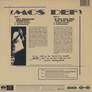 Mos Def / Universal Magnetic back