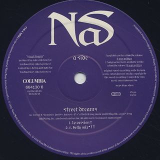 Nas / Street Dreams (Remix) label