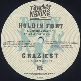 Naughty By Nature / Craziest label