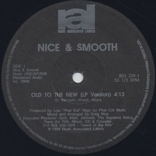 Nice & Smooth / Old To The New label
