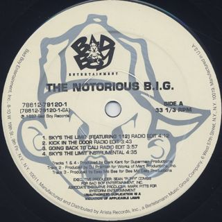 Notorious B.I.G. / Sky's The Limit label