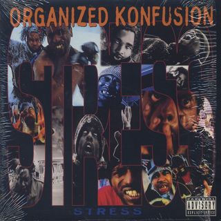 Organized Konfusion / Stress c/w Remix / Keep It Koming front