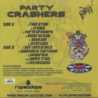 Philthy / Philip Lassiter Presents Party Crashers back