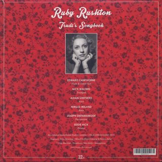 Ruby Rushton / Trudi's Songbook: Volume One & Two back