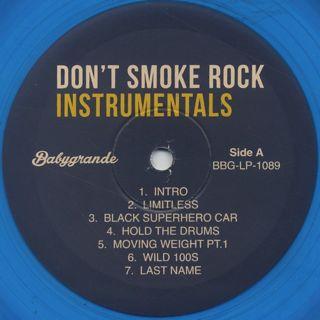 Smoke DZA x Pete Rock / Don't Smoke Rock Instrumentals label