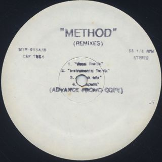 Wu-Tang Clan / Method (Remixes) front