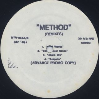 Wu-Tang Clan / Method (Remixes) back