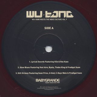Wu-Tang / Wu-Tang Meets Indie Culture vol.1 label