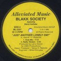 Blakk Society Featuring David Hollister / Just Another Lonely Day