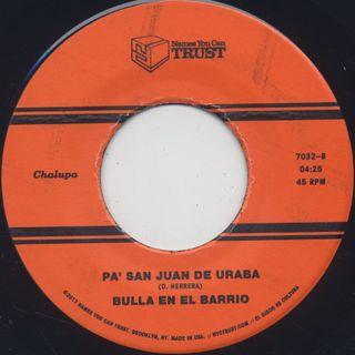 Bulla En El Barrio / Rueda De Bullerengue label
