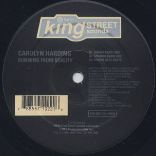 Carolyn Harding / Running From Reality label