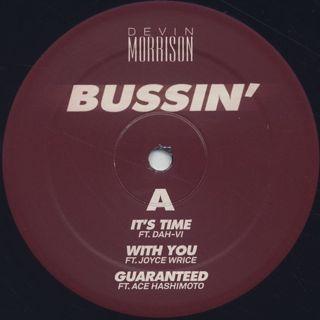 Devin Morrison / Bussin' (2LP) label