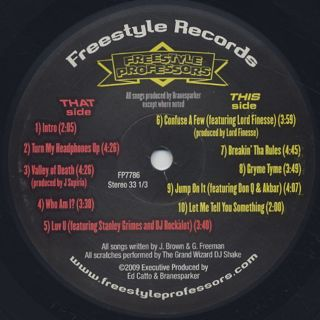 Freestyle Professors / Gryme Tyme label