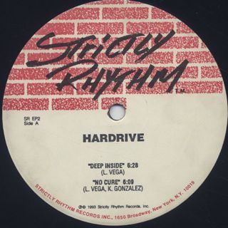 Hardrive / Deep Inside label