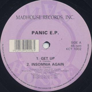 Kerri Chandler / Panic E.P. back