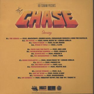 Kid Tsunami / The Chase back