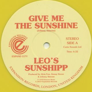 Leo's Sunshipp / Give Me The Sunshine front
