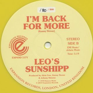 Leo's Sunshipp / Give Me The Sunshine back