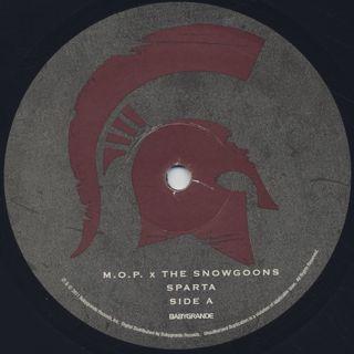 M.O.P. / Sparta label