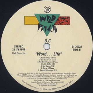 O.C. / Word... Life label