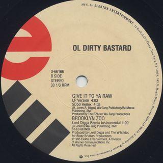 Ol' Dirty Bastard / Brooklyn Zoo label