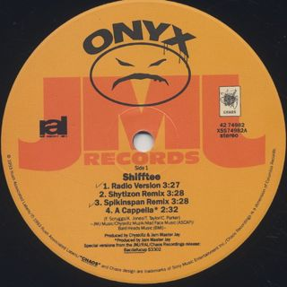 Onyx / Shifftee label