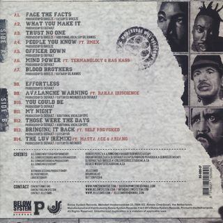 Pawz One / Face The Facts back