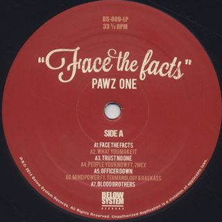 Pawz One / Face The Facts label