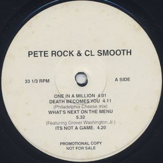 Pete Rock & CL Smooth / Never Coming Out