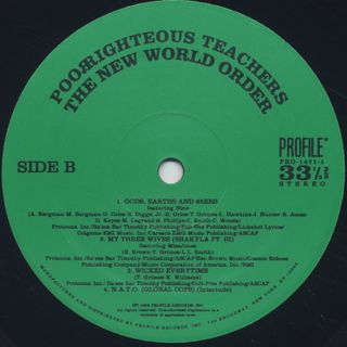 Poor Righteous Teachers / The New World Order label