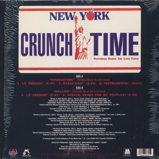 Prince Markie Dee / Crunch Time back