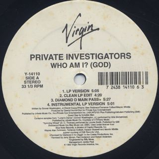 Private Investigators / Who Am I? (God) back