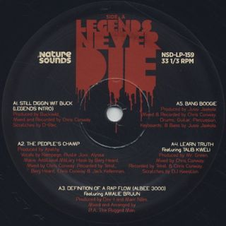 R.A. The Rugged Man / Legends Never Die label
