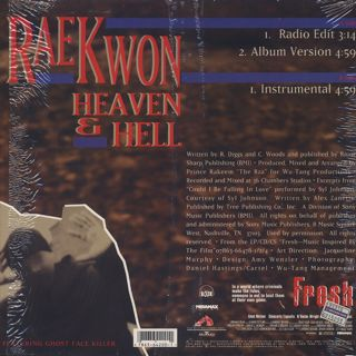Raekwon / Heaven & Hell back