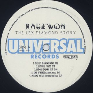 Raekwon / The Lex Diamond Story label
