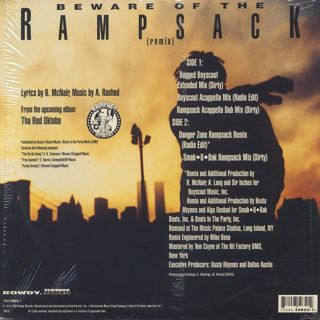 Rampage / Beware Of The Rampsack (Remix) back
