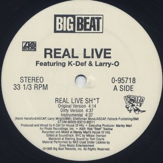 Real Live / Real Live Sh*t label