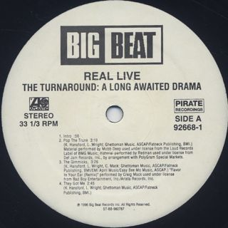 Real Live / The Turnaround: The Long Awaited Drama label