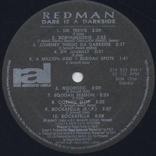Redman / Dare Iz A Darkside label