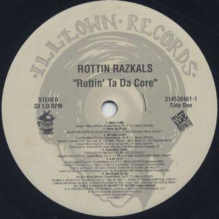 Rottin Razkals / Rottin Ta Da Core label