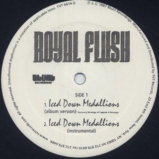 Royal Flush / Iced Down Medallions label