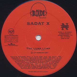 Sadat X / The Lump Lump label