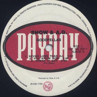 Show & A.G. / Goodfellas (2LP) label