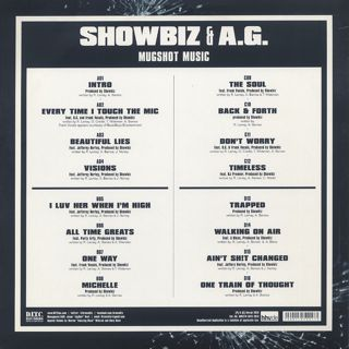 Showbiz & A.G. / Mugshot Music back