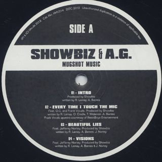 Showbiz & A.G. / Mugshot Music label