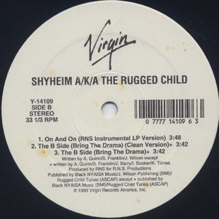 Shyheim A/K/A The Rugged Child / On And On back