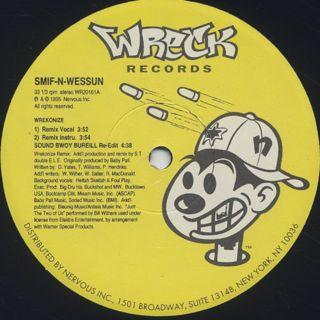 Smif-N-Wessun / Wrekonize c/w Sound Bwoy Bureill (Remixes) back